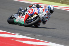 FIM Superbike World Championship - Free Practice 4th Session Royalty Free Stock Image