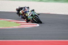 FIM Superbike World Championship - Free Practice 3th Session Royalty Free Stock Photography