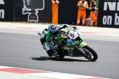 FIM Superbike World Championship - Free Practice 4th Session Royalty Free Stock Images