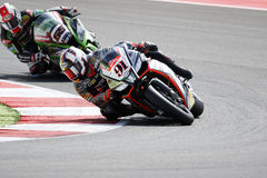 FIM Superbike World Championship – Race 1 Royalty Free Stock Images