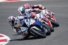 FIM Superbike World Championship - Race 2 Royalty Free Stock Photos