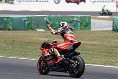 FIM Superbike World Championship - Race 2 stock images