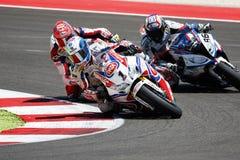 FIM Superbike World Championship - Race 2 Royalty Free Stock Images