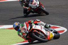 FIM Superbike World Championship - Superpole (2) Session Royalty Free Stock Photos