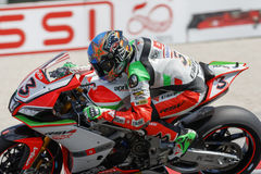 FIM Superbike World Championship - Superpole (2) Session Royalty Free Stock Image