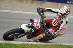 FIM Supermoto World Championship in Milan Royalty Free Stock Images
