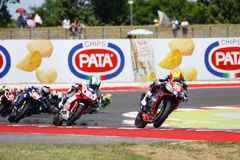 FIM Superstock 1000 World Championship - Race Royalty Free Stock Photography