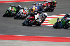 FIM Superstock 1000 World Championship - Race Royalty Free Stock Photo