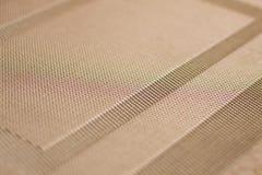 Fim tecido da esteira da textura Imagens de Stock
