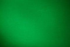 Fim verde da textura da cor de pano dos bilhar da associação acima Imagens de Stock