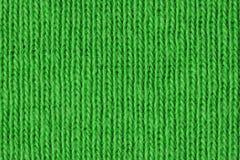 Fim verde do tecido de algodão acima Imagens de Stock