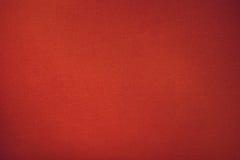Fim vermelho da textura da cor de pano dos bilhar da associação acima Imagem de Stock Royalty Free