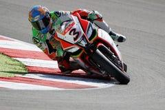 """FIM Wereld Superbike Kampioenschaps†""""Ras 1 Royalty-vrije Stock Afbeelding"""