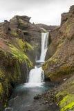 Fimmvorduhals trek in Iceland Stock Photos