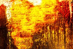 Fin abstraite de mur  Photos libres de droits