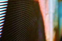 Fin abstraite vers le haut de fond coloré lumineux d'abrégé sur mur de vidéo de LED SMD images libres de droits