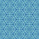 Fin blåtttextur med geometriska modeller Arkivbild