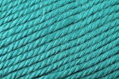 Fin bleu vert de texture de fil  Photo stock