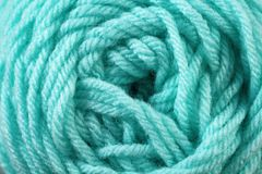 Fin bleu vert de texture de fil  Photos libres de droits