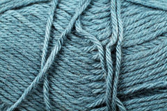 Fin bleue en pastel de texture de fil  Photos libres de droits