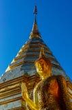 Fin buddistisk arkitektur på Wat Doi Suthep Chiang Mai Thailand Royaltyfri Foto