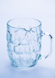 Fin cassée en verre  Photo stock