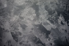 Fond crépi gris Photos libres de droits