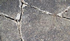 Fin criquée ou cassée de chemin de jardin  Fond Images stock