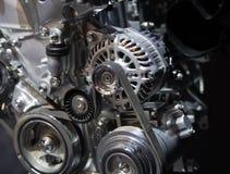 Fin d'engine de véhicule vers le haut Images libres de droits