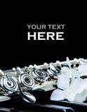 Fin d'instrument de clavier et de cannelure de piano avec l'endroit pour votre texte photos stock