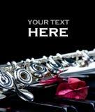 Fin d'instrument de clavier et de cannelure de piano avec l'endroit pour votre texte image libre de droits