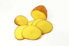 Fin d'isolement par pomme de terre fraîche  Image libre de droits
