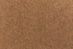 Fin de couleur de brun de texture de fond de panneau de liège Photos libres de droits