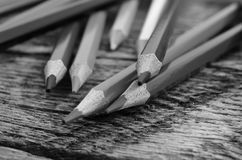 Fin de crayon de crayon  Photo libre de droits