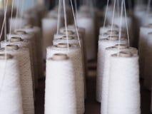 Fin de cuillère d'industrie de fils de textile  Photos stock
