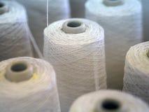 Fin de cuillère d'industrie de fils de textile  Image stock