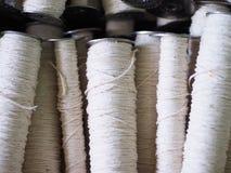 Fin de cuillère d'industrie de fils de textile  Images libres de droits