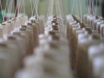 Fin de cuillère d'industrie de fils de textile  Photo libre de droits