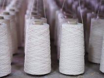 Fin de cuillère d'industrie de fils de textile  Image libre de droits
