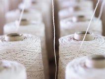 Fin de cuillère d'industrie de fils de textile  Photos libres de droits