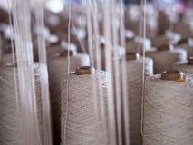 Fin de cuillère d'industrie de fils de textile  Photographie stock