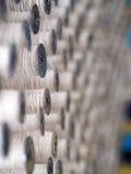 Fin de cuillère d'industrie de fils de textile  Photographie stock libre de droits