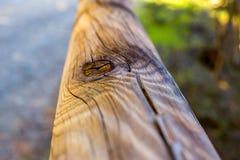 Fin de faisceau en bois  photographie stock