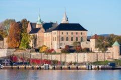 Fin de forteresse d'Akershus  Image stock