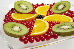 Fin de fruit frais vers le haut Photo libre de droits