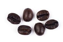 Fin de grain de café vers le haut Photographie stock