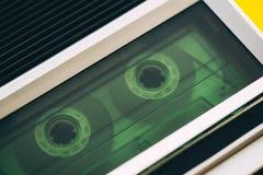 Fin de joueur de cassette sonore  photos libres de droits