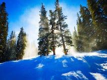 Fin de l'après-midi dans le Colorado photo libre de droits