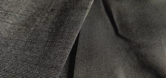 Fin de laine gris-foncé de manteau/blazer  photographie stock libre de droits