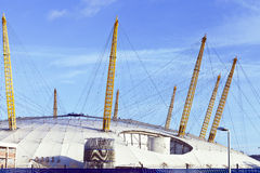 Fin de Londres Millennium Dome  Photographie stock